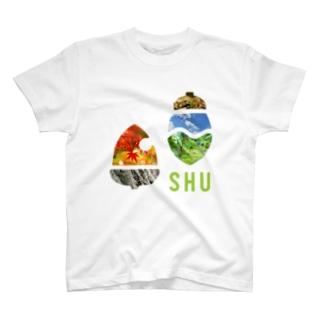 SHUロゴ・ピクチャー T-shirts