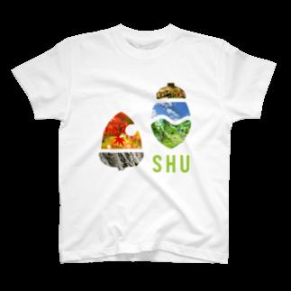 樹木・環境ネットワーク協会(聚)のSHUロゴ・ピクチャー T-shirts