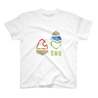 SHUロゴ・シンプルピクチャー T-shirts
