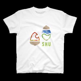 樹木・環境ネットワーク協会(聚)のSHUロゴ・シンプルピクチャー T-shirts