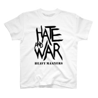 hate&'war T-shirts