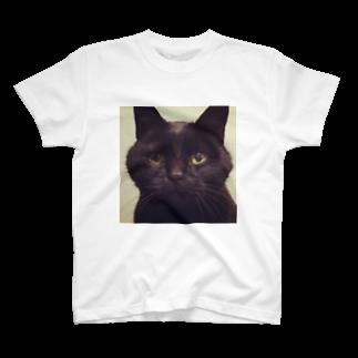 kotoringoの丸顔 林檎 T-shirts