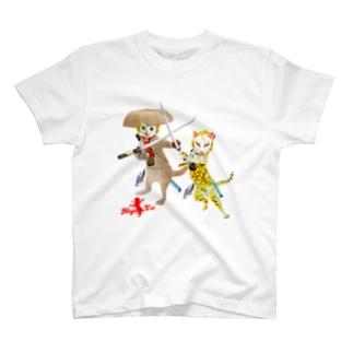 NINJA CAT 激突2 T-shirts