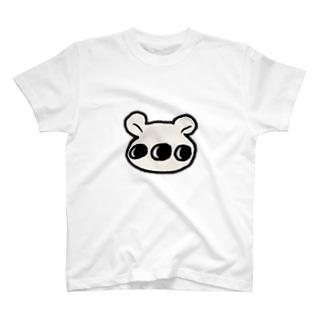 多眼しろくま T-shirts