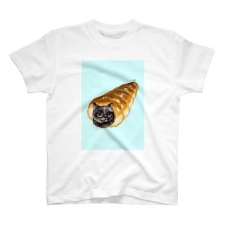 コロネ猫 T-shirts