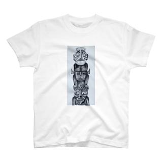 トーテムポール T-shirts