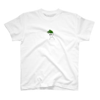 ワニをかぶる T-shirts