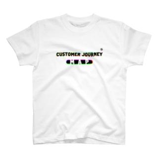 CUSTOMER JOURNEY MAP T-shirts