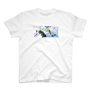 宍戸あくろTシャツ16 T-shirts