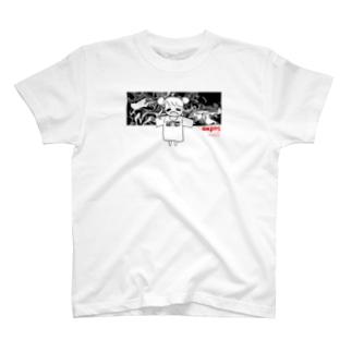 宍戸あくろTシャツ44 T-shirts