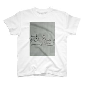 joyeusechat~幸せなネコ~Tシャツ T-shirts