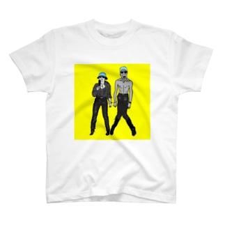 フミオとナツコ T-shirts