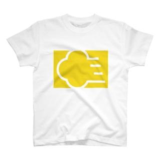 筋斗雲 きいろ T-shirts