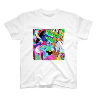 判決!ねこたろう T-shirts
