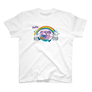 風船モンスター バリー(カラー) T-shirts