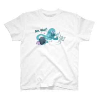 ミスターゴースト(カラー) T-shirts