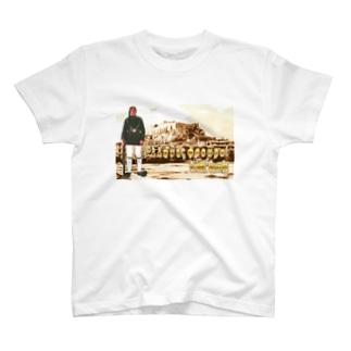 ギリシャ:衛兵とアクロポリス Greece: Guards & Acropolis T-shirts