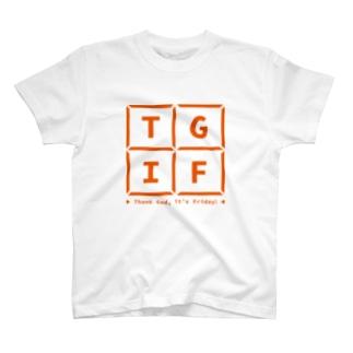 TGIF Basic Logo Tee T-shirts