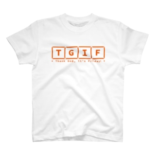 TGIF Horizonal Logo Tee T-shirts