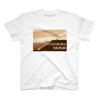 ギリシャ:スニオン岬のポセイドーン神殿 Greece:Temple of Poseidon at Cape Sounion T-shirts