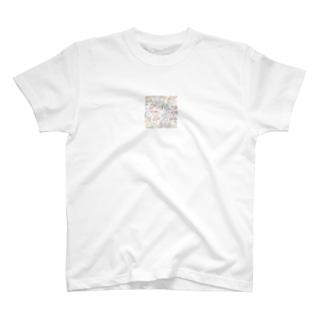 缶バッチ T-shirts