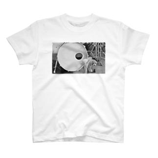 ドラム×犬 T-shirts