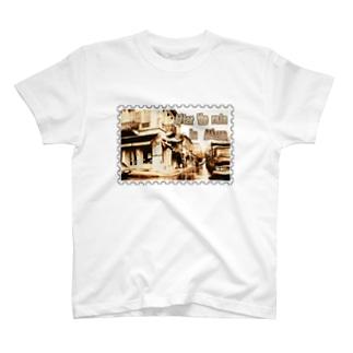 ギリシャ:雨上がりのアテネ★白地の製品だけご利用ください!! After the rain in Athens/Greece★Recommend for white base products only !! T-shirts