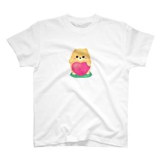 お招きポメラニアン T-shirts