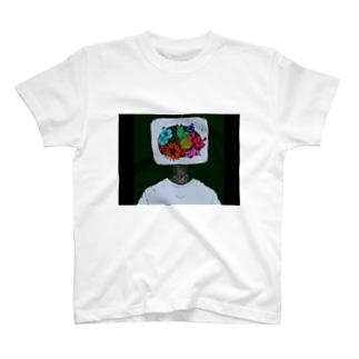 Flowerシャツ T-shirts