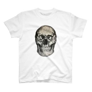 スカル版画グッズ T-shirts