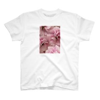 八重咲き T-shirts