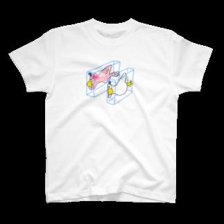 NIPPASHI SHOP™のハンブンダック T-shirts