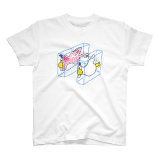 ハンブンダック T-shirts