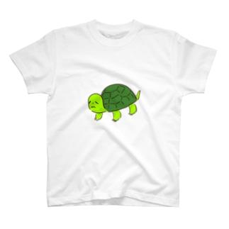 弱そうなかめ T-shirts