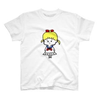 セーラー服 T-shirts