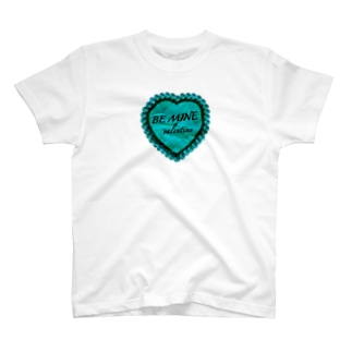 BE MINE valentine green T-shirts