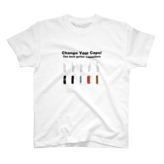 エレキギターのコンデンサ1 T-shirts