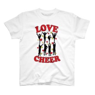 Love Cheer T-shirts