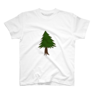 針葉樹。 T-shirts