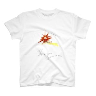 獰猛なライオン T-shirts