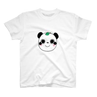 パンダヌキ T-shirts