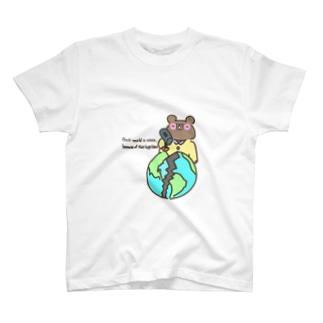 ワールズエンドくまくん T-shirts