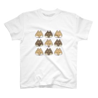 SHIBA整列 T-shirts