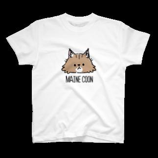 995(キュウキュウゴ)のMAINE COON T-shirts