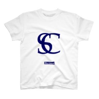 Shu-cream Logo Tee Navy Classic T-shirts