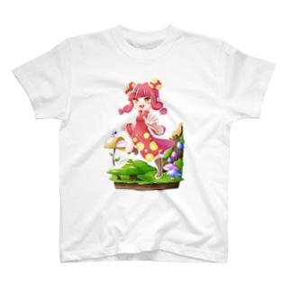 キノコさん T-shirts