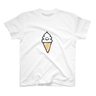 ソフトクリームちゃん T-shirts