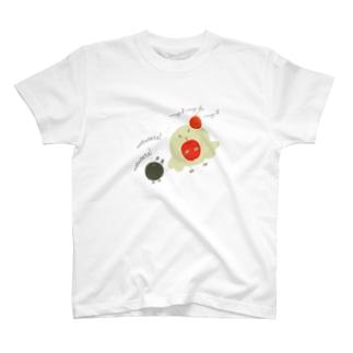 Ba-ni Bとtapii t T-shirts
