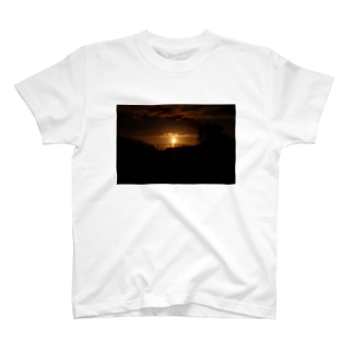 夕焼け T-shirts