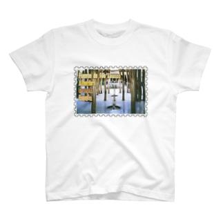 スペイン:アルハンブラ宮殿★白地の製品だけご利用ください!! Spain: Court of the Lions/Alhambra/Granada★Recommend for white base products only !! T-shirts